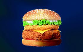 Zinger Tower Burger - Zinger Tower Burger from KFC