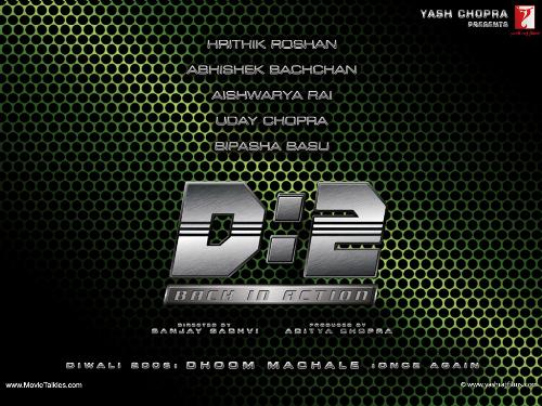Dhoom 2 - Banner of Dhoom 2..an Indian Movie