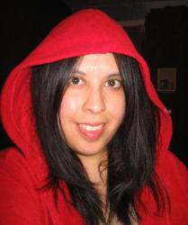 Little red riding hood! - thats me!
