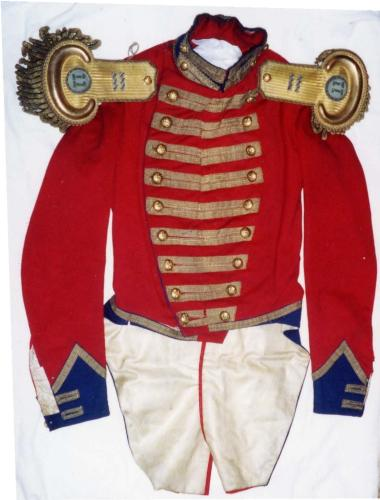 dragoon coatee c. 1845 - One of my treasured antiques.....