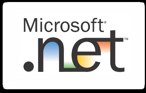 .NET development platform for .NET developers. - This is the official logo of the Microsoft .NET