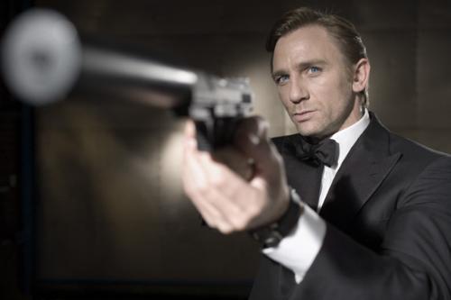 Bond-Casino Royal - Daniel Craig as Bond