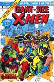 X-Men - X-men comics illustrated by Dave Cockrum