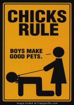 chicks rule - chicks rule
