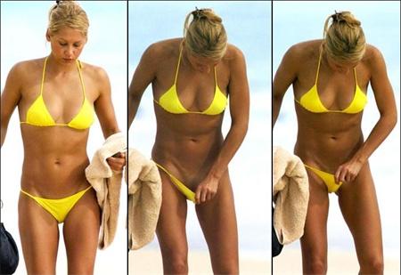 Anna kournikova with swim suit - Isnt she hot?