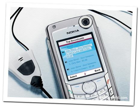 mobile phone - nokia 6680