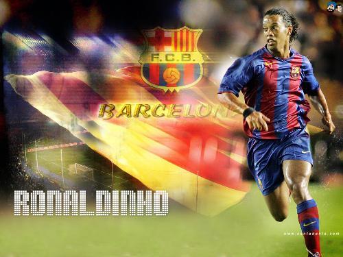 Ronaldhino - Ronaldhino in Action for Barcelona