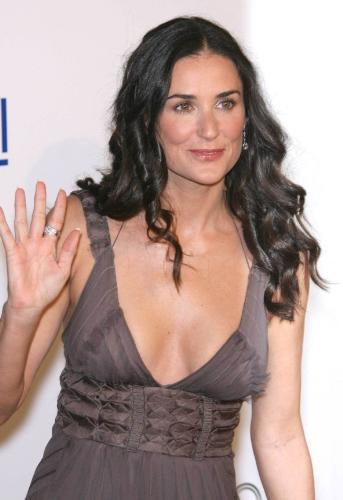 Demi Moore - she is demi moore. it is a recent photo