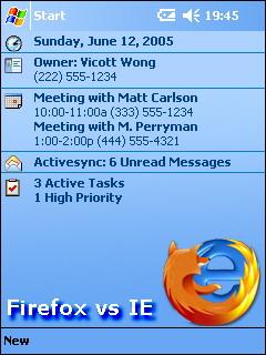 firefox vs IE - firefox vs IE