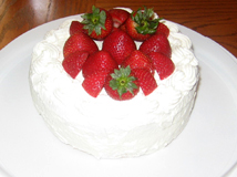 STRAWBERRY SHORTCAKE :) - I love strawberry shortcake and I make this lots!