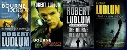 The Bourne titles by Robert Ludlum - Best seller books by Robert Ludlum