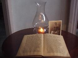 book & lamp - Books bring forth imagination..so read on!! =)