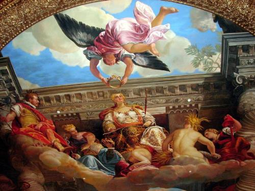 Ceiling in the Venetian  - Ceiling in the Venetian