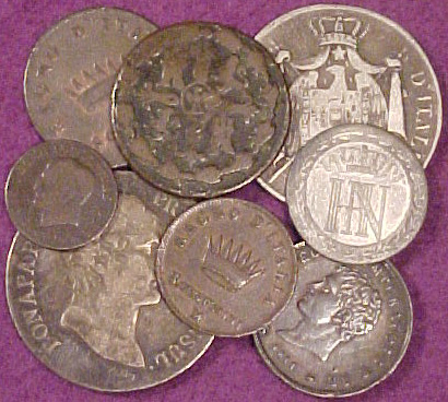 Coins - different coins