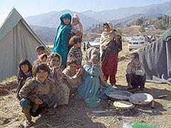 Muzaffar Abad - EARTHQUAKE in pakistan