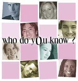 Who Do You Know? - Who do you know page from Orkut.