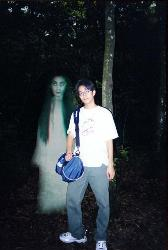 boy with bhoot.. - boy with bhoot..