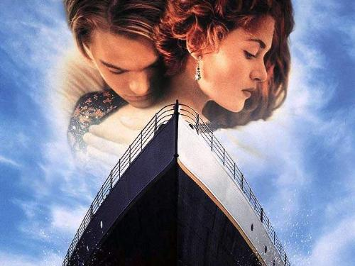titanic - two lovers with titanic..