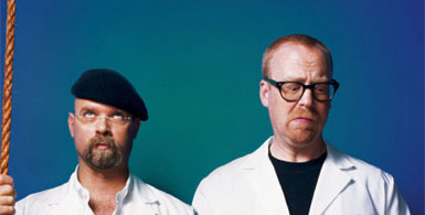 Mythbusters - Adam and Jamie
