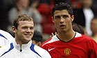 Rooney and Ronaldo - The two players together....