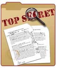 What is your Top Secret? - Photo of the Top secret stamp known all over the world