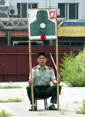 bad job - a man who work for chinese military..