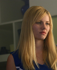 elisha cuthbert - elisha cuthbert looking weary. facial expression she must maintain if she is to do the My Sassy Girl english version.