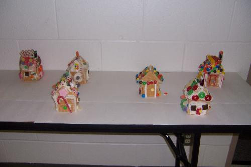 gingerbread houses - gingerbread houses