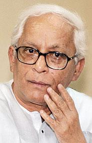 Budhadeb Bhattacharjee - B.Bhattacharjee, The Chief Minister Of Westbengal, India
