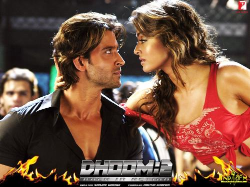 game is not over - Dhoom-2 is one the most sensation and blockbuster movie of this year.any how hrithik is their so no question of flop.his acting is really very much electrifying,no doubt in that.