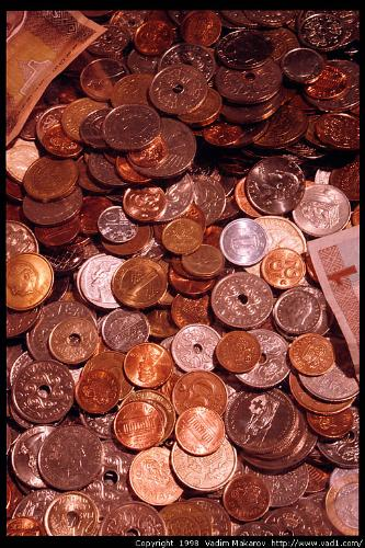 Money - This picture show plenty of money. Money is our everyday need and you see that picture full coins.