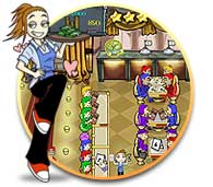 Diner Dash PC Game - I love this game, I think number 3,Diner Dash Flo on the Go is the best,but this one is great as well. Their fun.