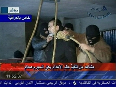 saddam hussein executed - Saddam Hussein went to the gallows before sunrise Saturday, executed by vengeful countrymen after a quarter-century of remorseless brutality that killed countless thousands and led Iraq into disastrous wars against the United