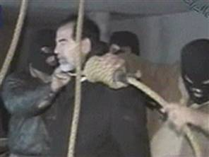 video capture from an iraqi tv moments before sadd - more pictures here: http://www.msnbc.msn.com/id/16389128/?GT1=8816