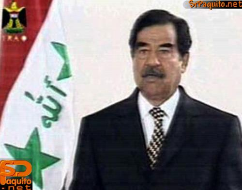 sadam hussein - i could just kill him whit my own hands!!!