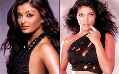 Aishwarya Rai or Priyanka Chopra???? - Aishwarya Rai(left) and Priyanka Chopra(right).