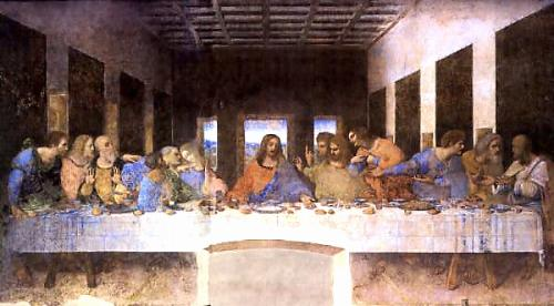 The Last Supper  -   One of the finest works.