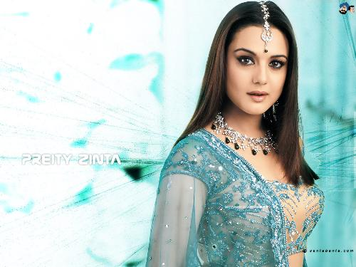 preity zinta - she is so cute