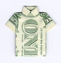 shirt made of 1$ - shirt made of 1$