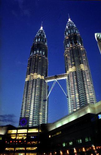 Kuala Lumpur - Petronas Twin Tower. Location: Kuala Lumpur