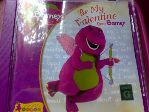 barney - one of my collections of barney VCDs.