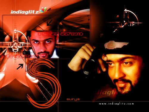surya - what is surya's first film? and How many films act in surya?