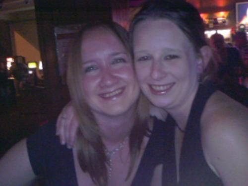 Drinking - Me and my mate Becky on a night out when she came to visit from London